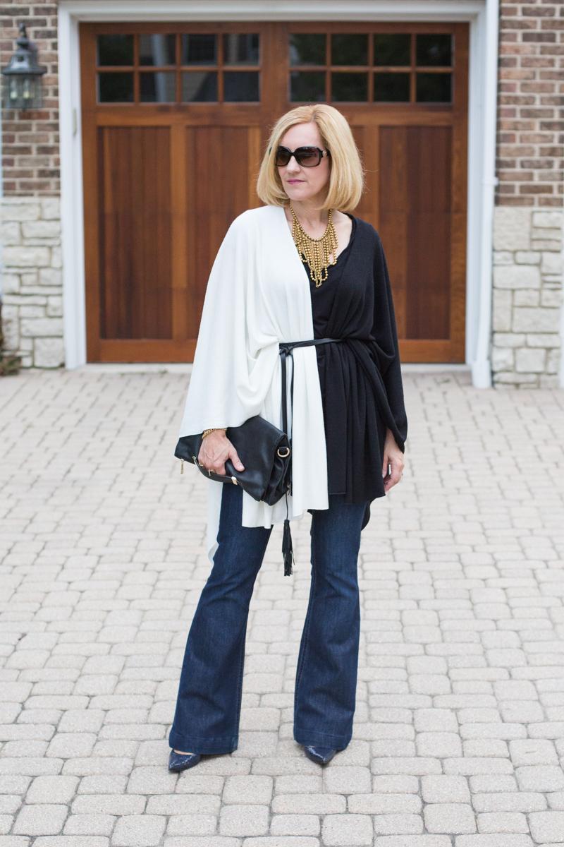 Caped Crusader with the Fall Box of Style - Kathrine Eldridge, Wardrobe Stylist