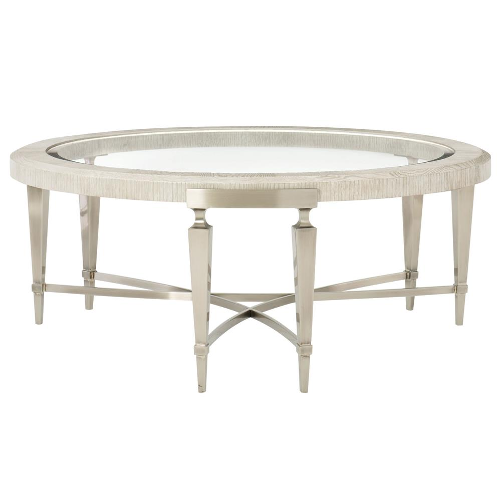 Round Glass Top Coffee Table Hayley Hollywood Regency Round Glass Top Coffee Table