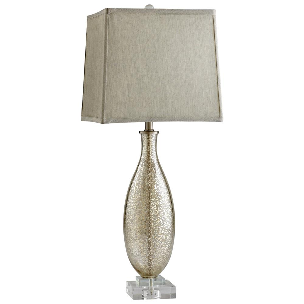 Glass Crackle Lamp Coco Antique Mercury Glass Modern Elegant Gold Crackle Table Lamp