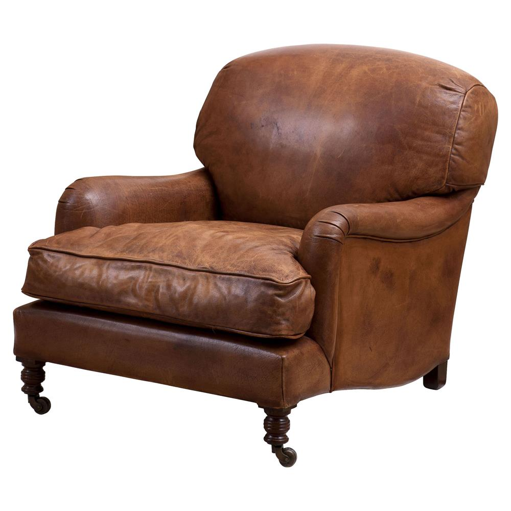 Eichholtz Highbury Modern Classic Brown Leather ...