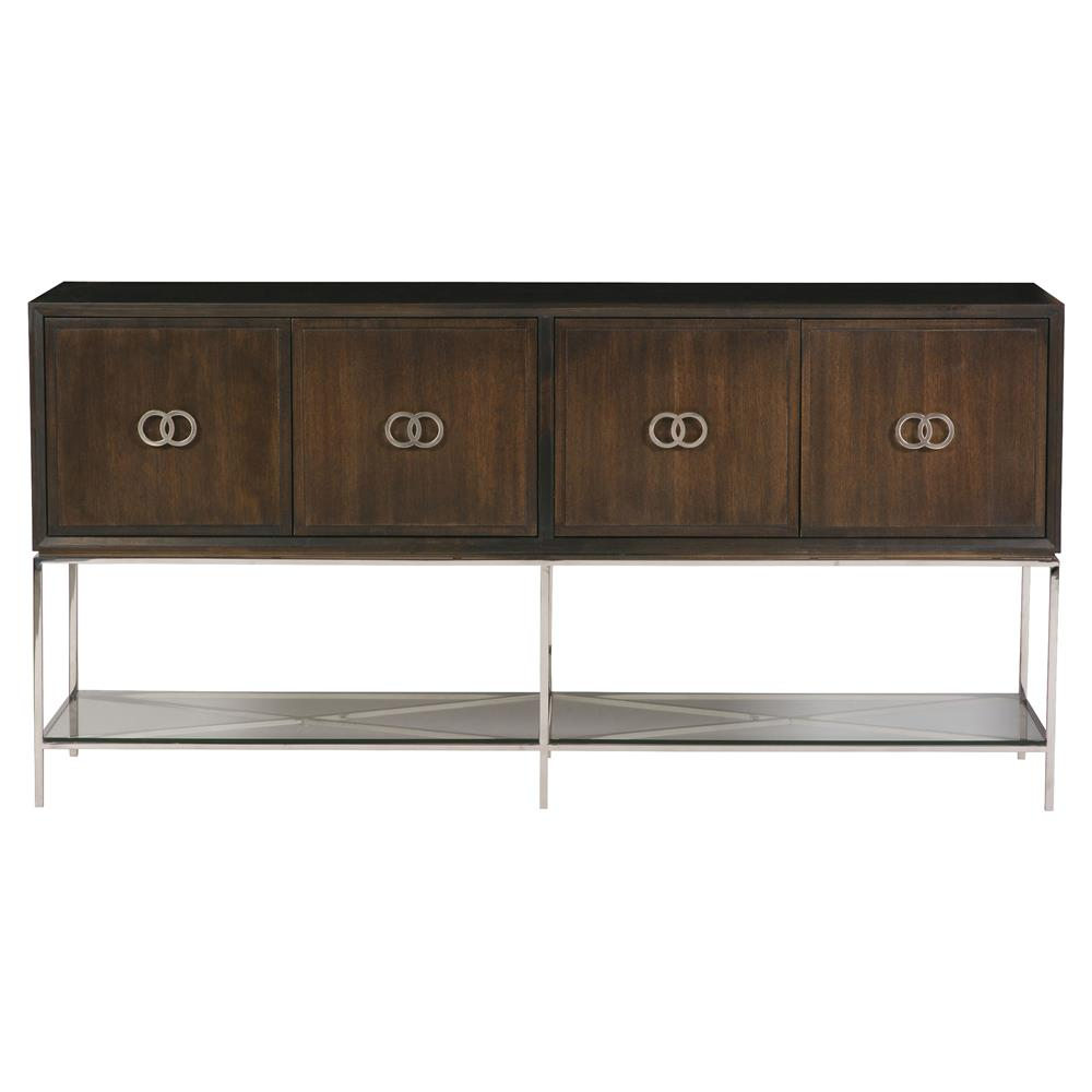 Sideboard Weiß Michael Weiss Kingsley Modern Classic Walnut Solid 4 Door Sideboard