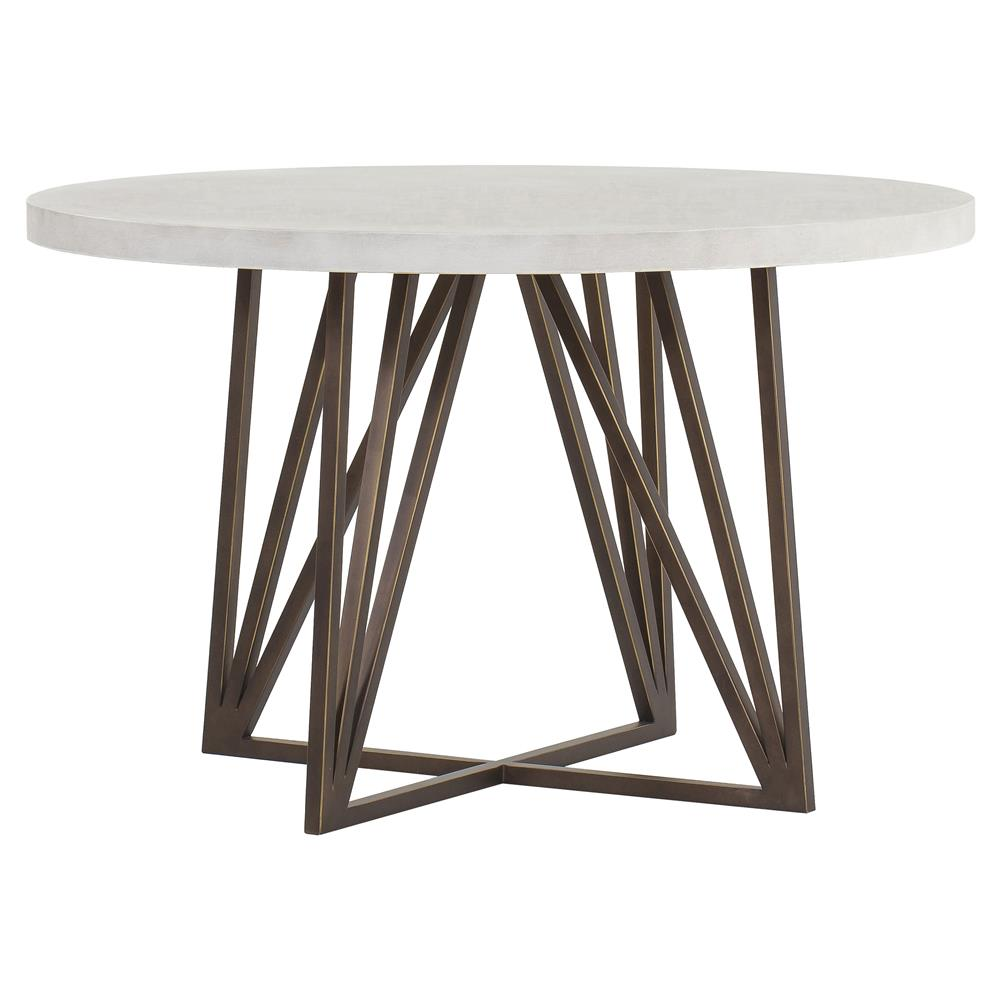 Small Dining Table Maison 55 Emerson Modern Classic Concrete Top Metal Dining Table Small