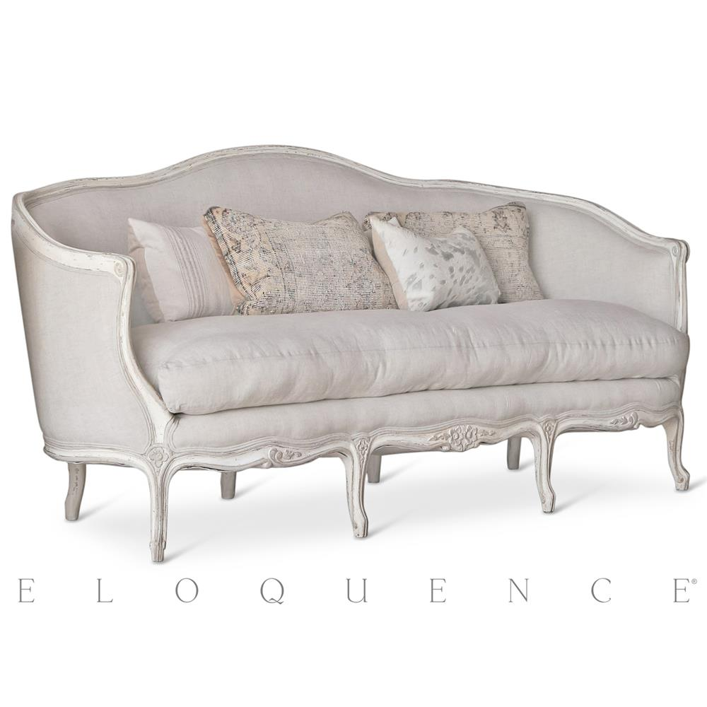 Canape Sofa Eloquence Seraphine Canape Sofa In Gesso Oyster