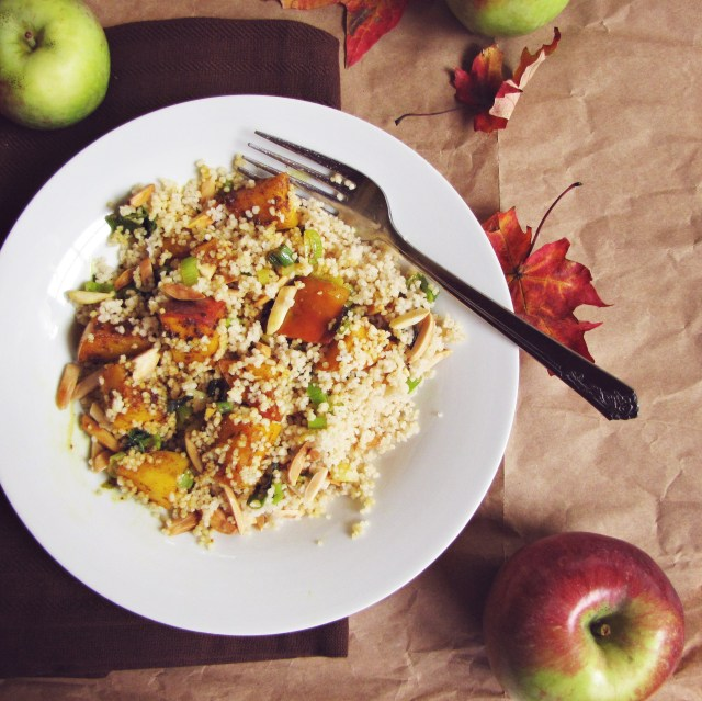 Curried Apple Couscous | Katie at the Kitchen Door