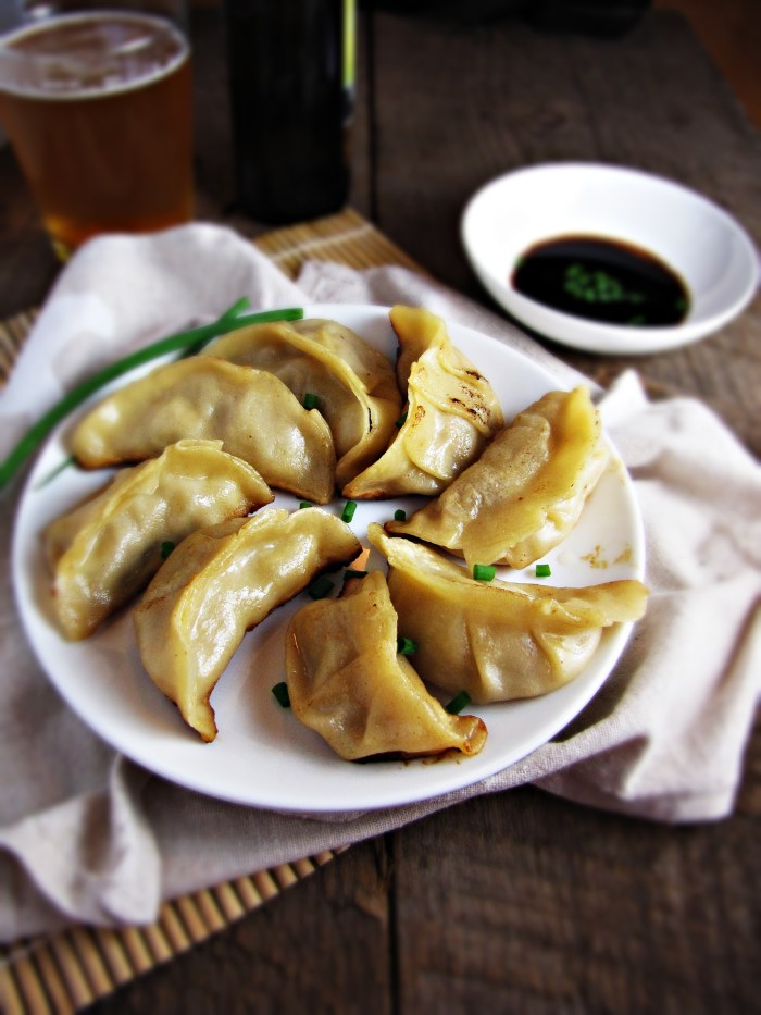 Homemade Pork and Apple Potstickers | Katie at the Kitchen ...