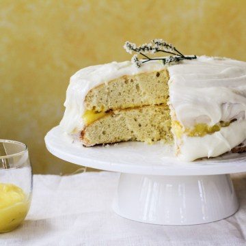 Triple Lemon Birthday Cake {Katie at the Kitchen Door}