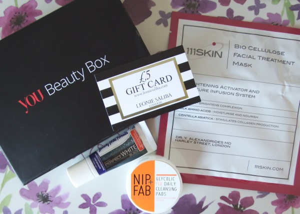 You Beauty August 2016 Review and Unboxing