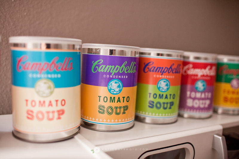 DIY Campbell Soup (Warhol) Toy Cans  Free Printable! » katie day