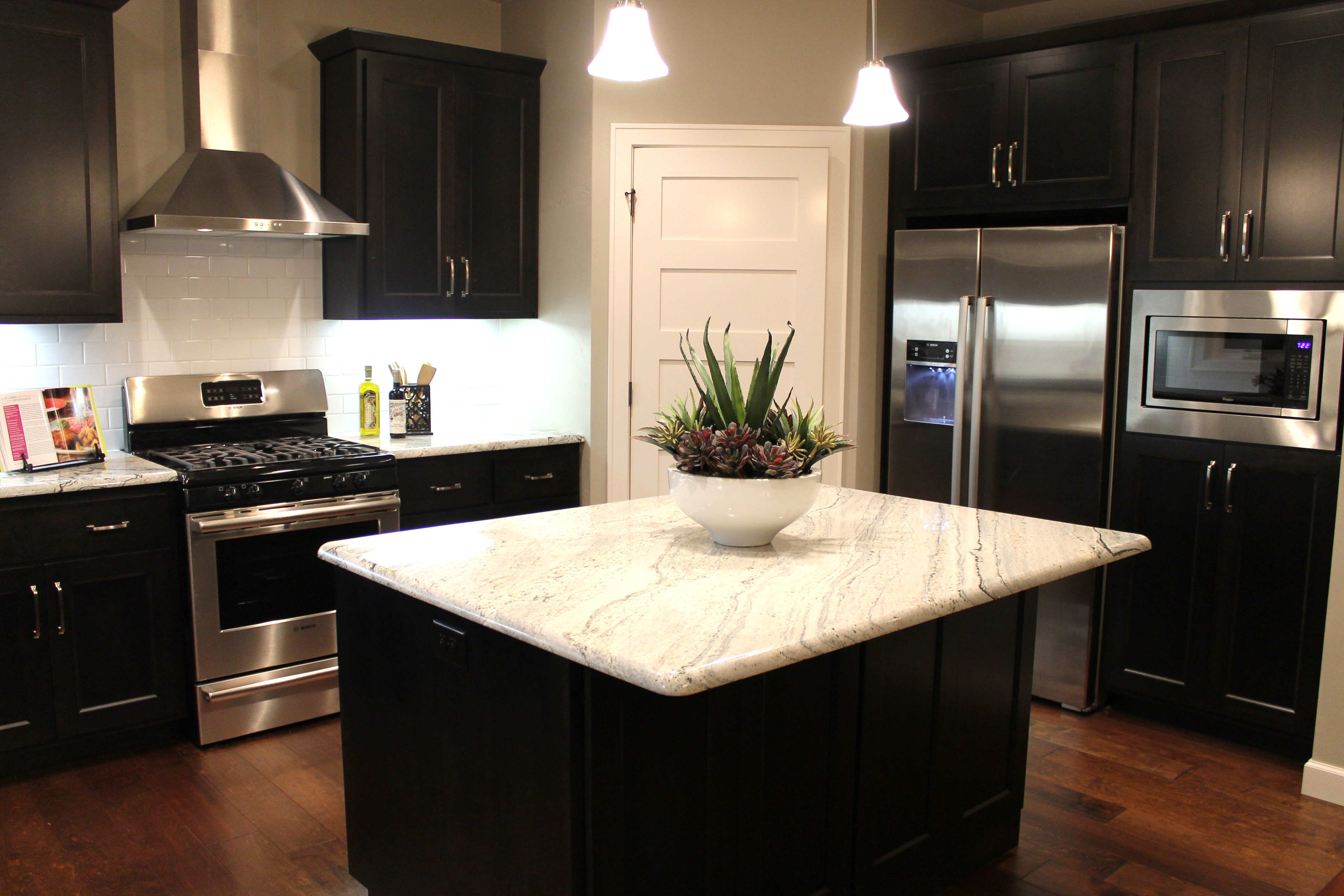 Kitchen Cabinets With Black Trim How To Choose Between Light And Dark Granite Katie Jane