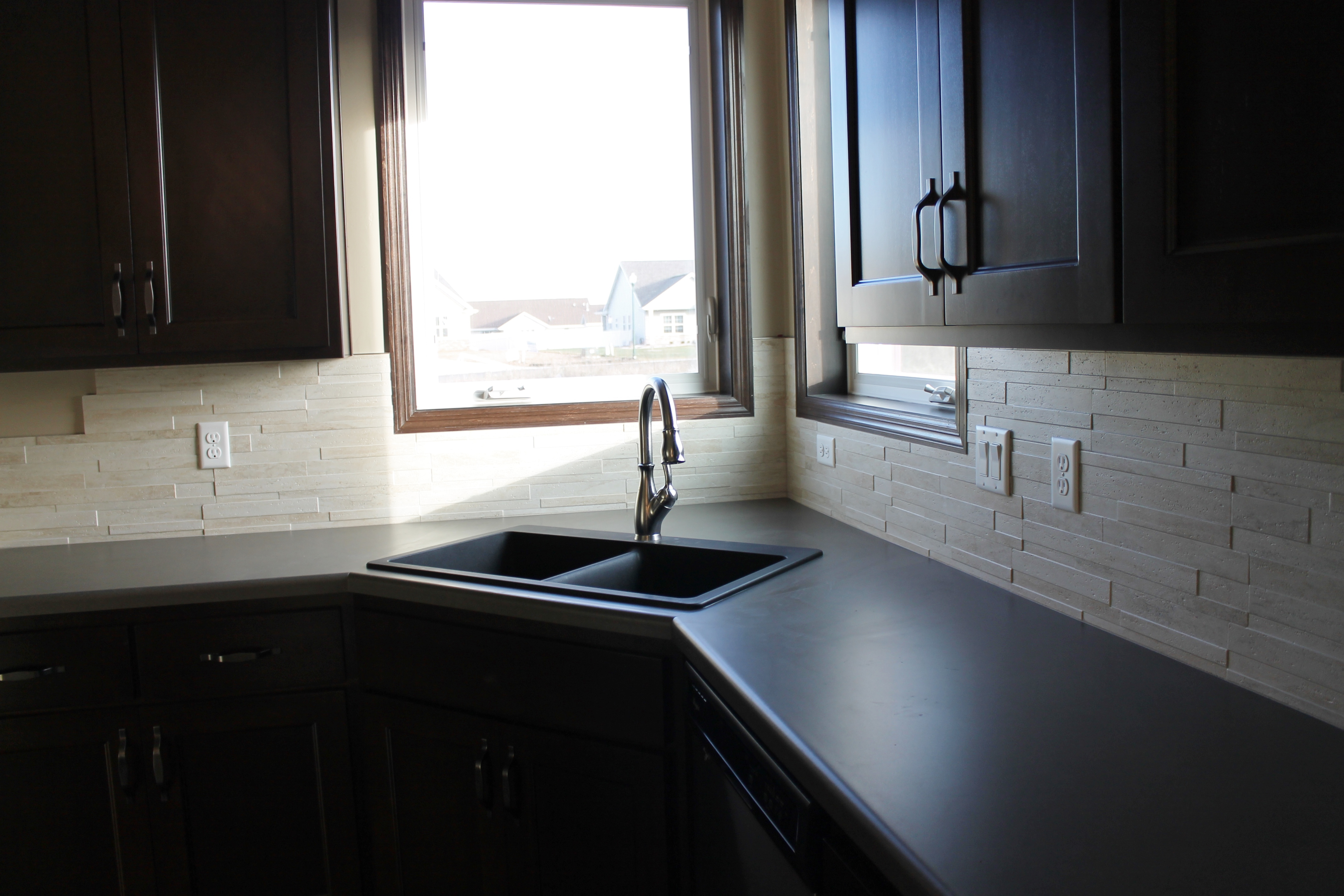 How To Cut Sink In Laminate Countertop Latest Trends In Laminate Counters Katie Jane Interiors