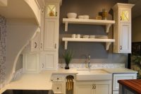 Farmhouse Kitchen Style- at Valley Cabinets!  Katie Jane ...