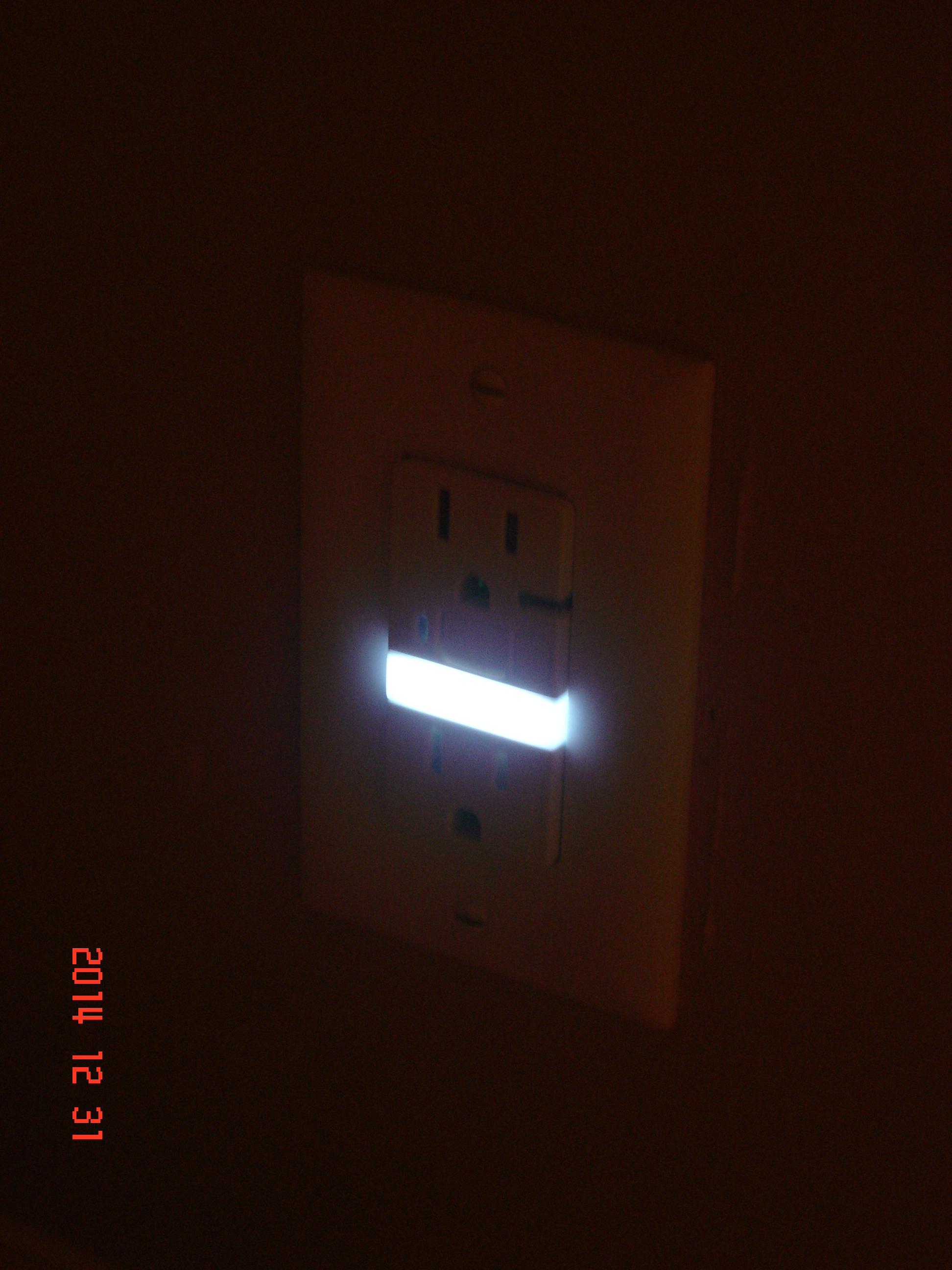 Installing a Pass&Seymour GFI nightlight outlet  Home