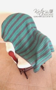 Free Blanket Crochet Pattern: Calming Seas