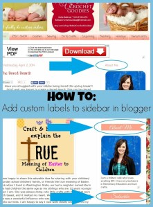 How to Replace Titles with Images in Blogger