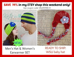 ETSY Valentine Day SALE! Save 14%