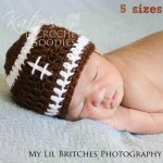 Football Hat now available in Sizes Newborn – Small Adult!