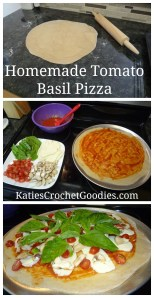 Homemade Tomato Basil Pizza & Sauce