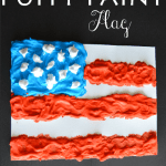 Puffy Paint USA Flag
