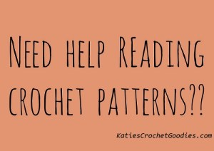 Reading Crochet Patterns