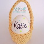 Free Mini Easter Egg Basket Pattern