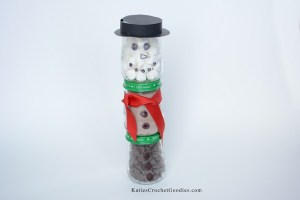 Baby Jar Hot Cocoa Snowman