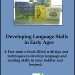 homeschool developing language and reading skills