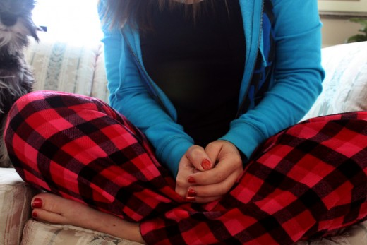A cozy pair of pajamas can be a great gift for a teen girl.