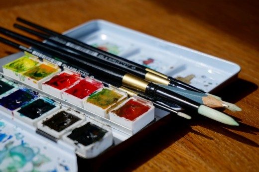 A watercolor set is a great gift for a teen who loves to draw or paint.