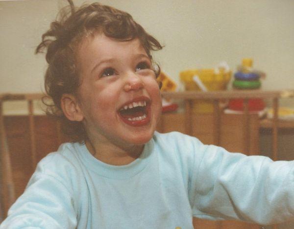 Katja mit 3 Jahren