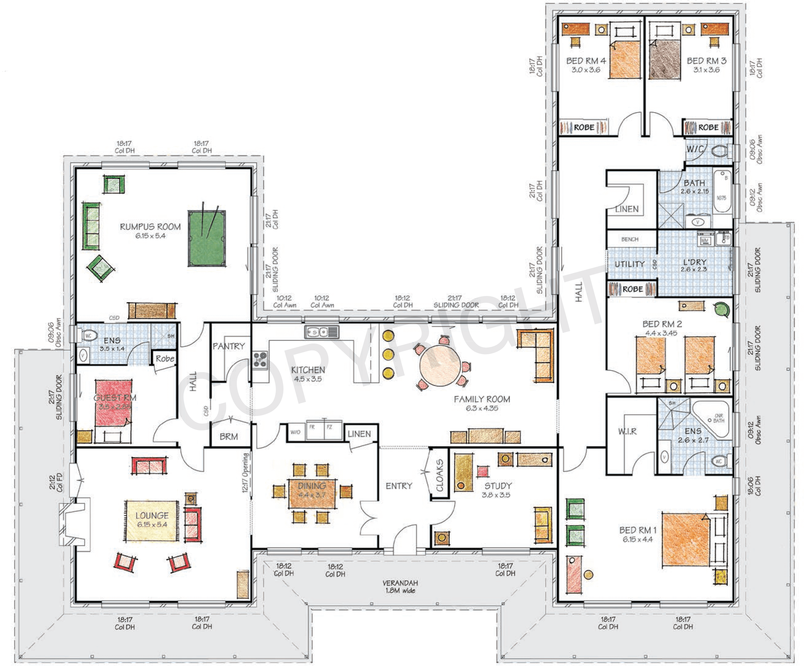 Us Homes Floor Plans Floor Plan Friday U Shaped Home