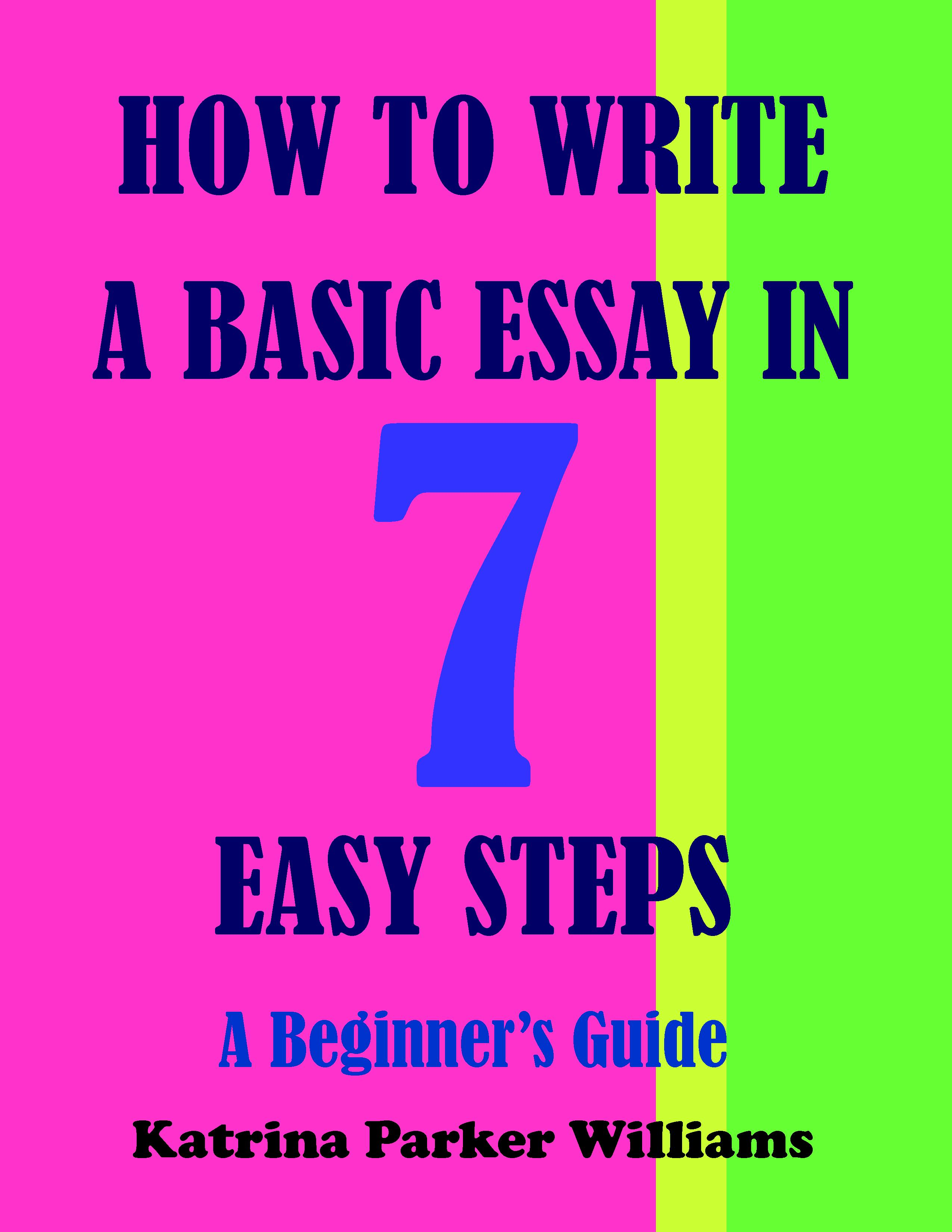 basics of an essay On the written portion of the toefl, you will be asked to write an essay that is more than one paragraph long the reason for this is that in us academic culture.