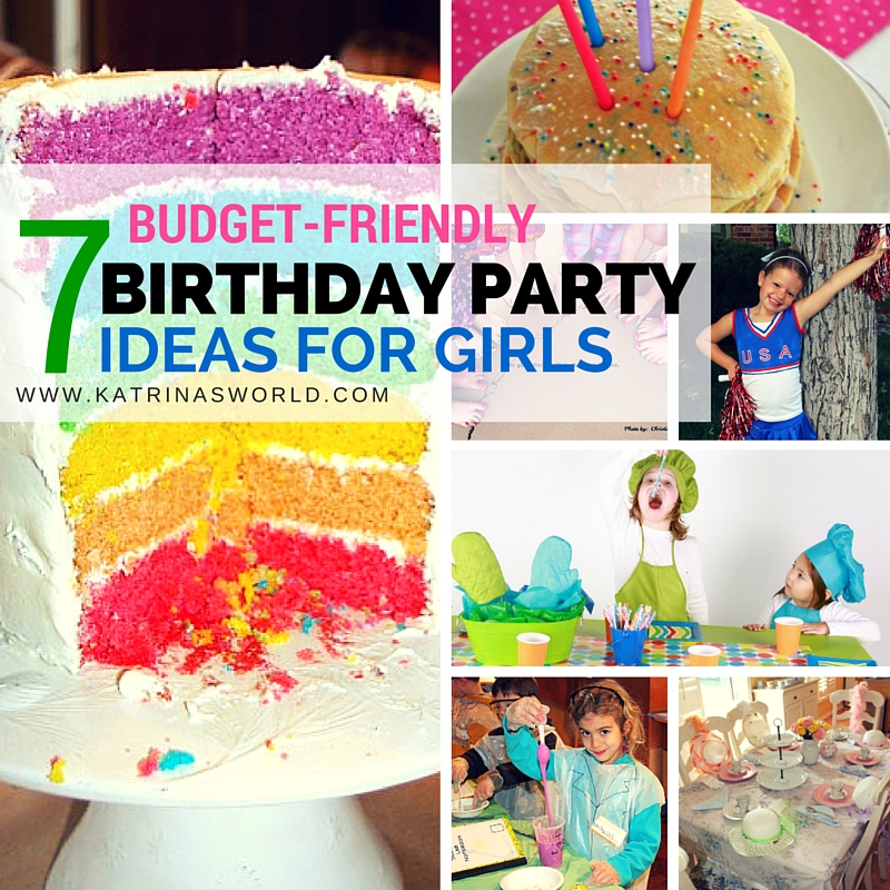 Kids Birthday Party Ideas \u2014 Katrina\u0027s World
