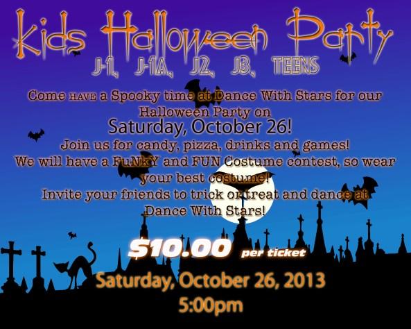 halloween Party Kids 2013