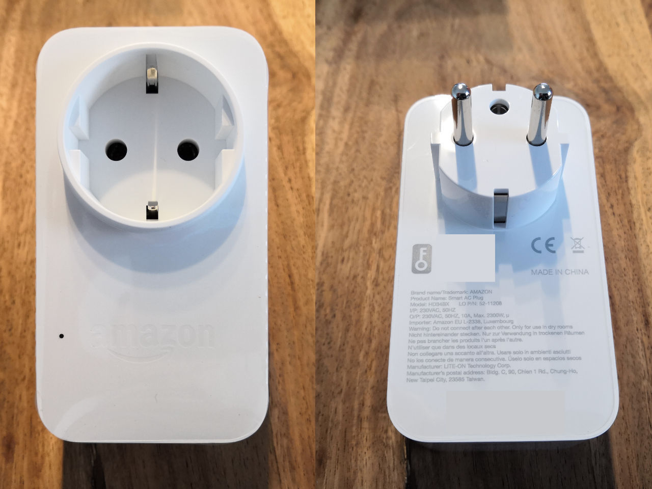 Steckdosen Amazon Test Amazon Smart Plug Wlan Steckdose Für Amazon Alexa