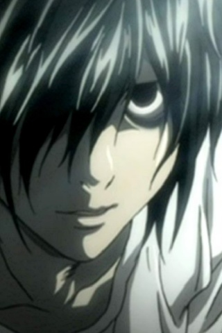 Iphone Wallpaper Hd Anime Death Note L 320x480 2