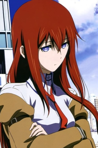 What Is The Wallpaper On The Iphone X Steins Gate Kurisu Makise 320x480