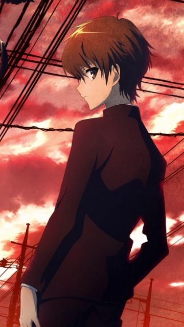 Anime Ipod Wallpapers Another Koichi Sakakibara 360x640