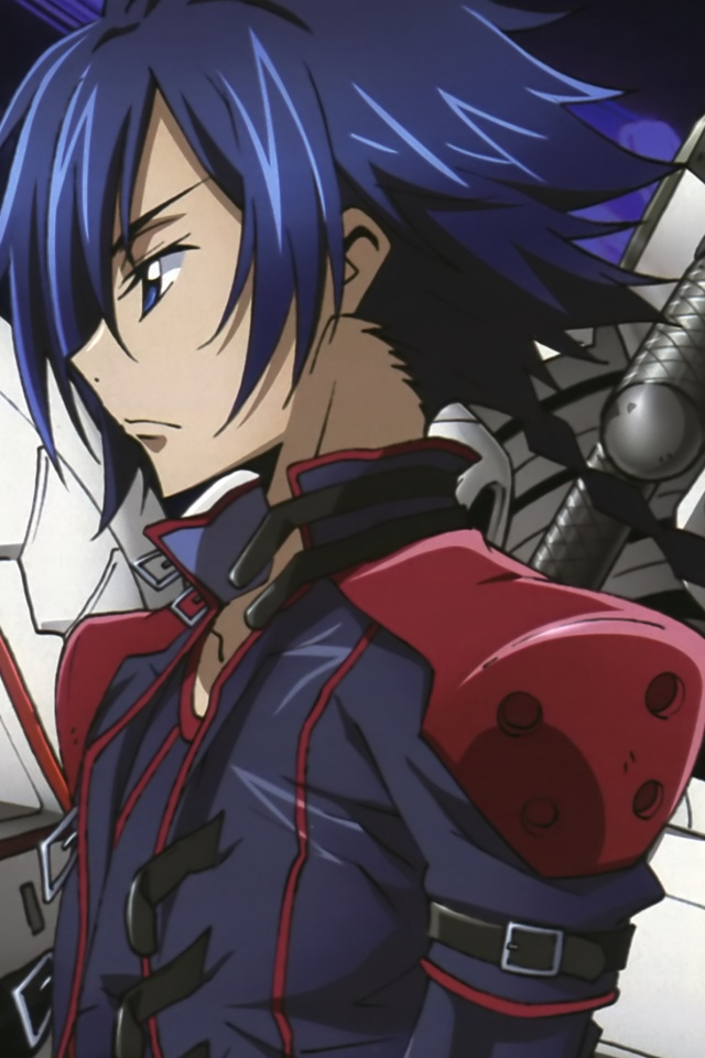 Code Geass Wallpaper Hd Code Geass Akito The Exiled Akito Hyuga Iphone 4 Wallpaper