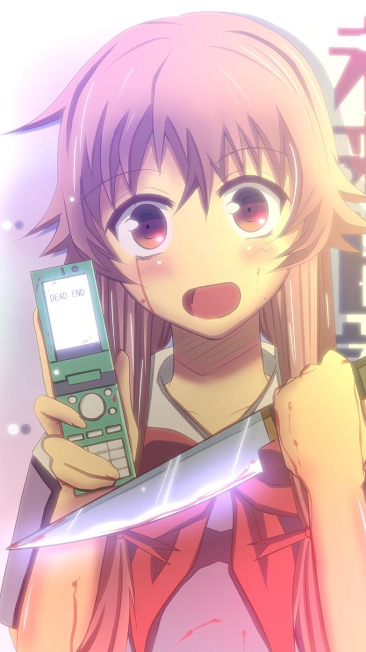 400 800 Hd Wallpaper Mirai Nikki Future Diary Yuno Gasai Sony Lt28h Xperia