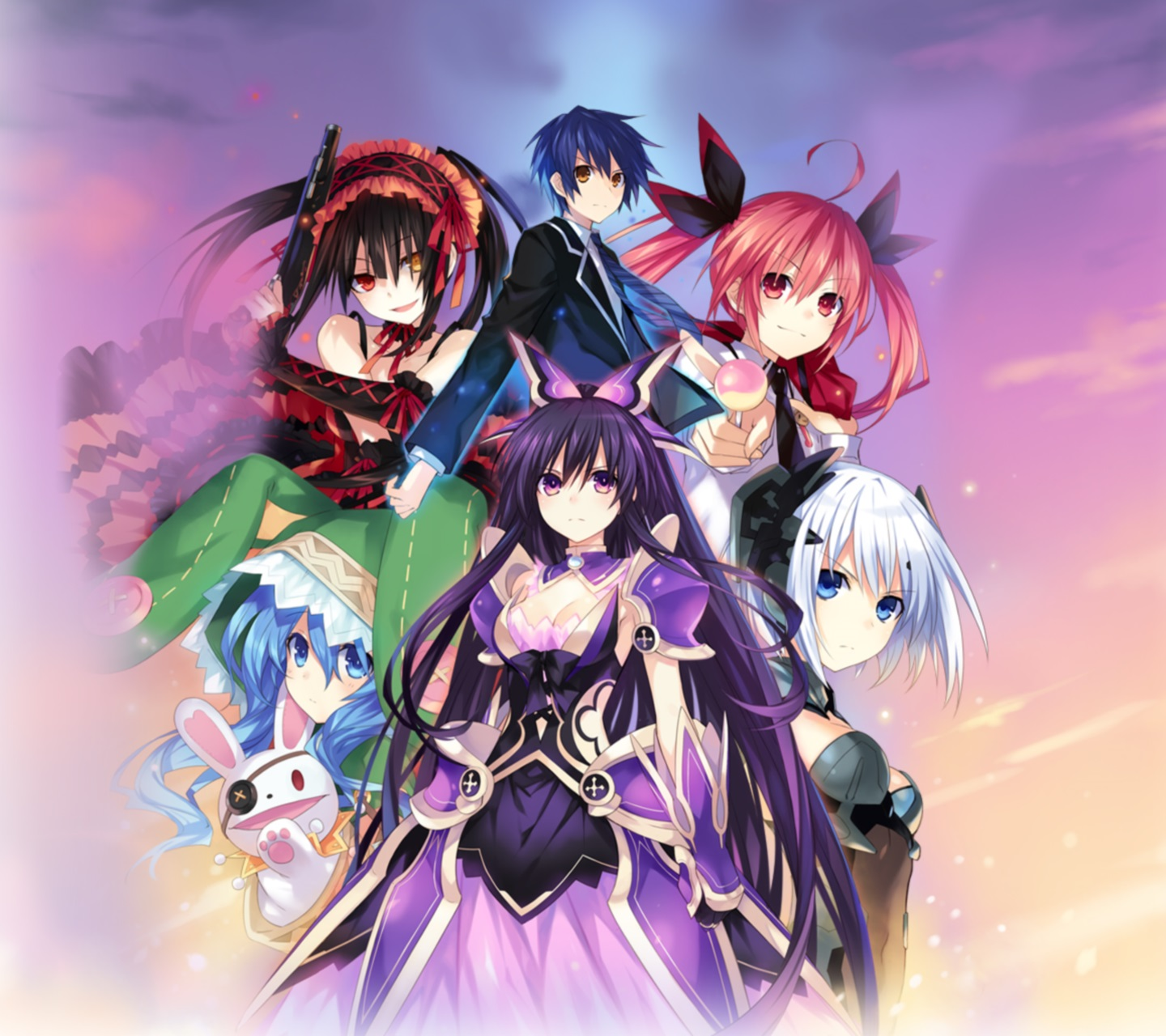 Fall Live Wallpaper Iphone Date A Live Wallpapers For Smartphones Iphone Android 720x1280