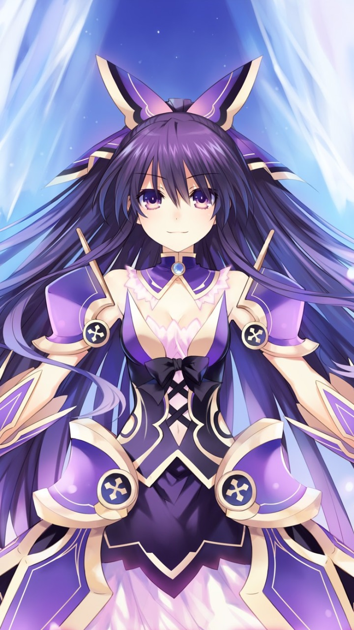 Liquid Live Wallpaper Iphone X Date A Live Tohka Yatogami Samsung Gt I9300 Galaxy S3