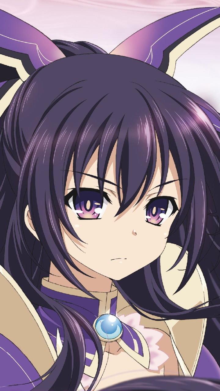 Liquid Live Wallpaper Iphone X Date A Live Tohka Yatogami Samsung Galaxy Mega 6 3