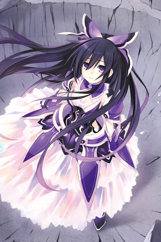 Liquid Live Wallpaper Iphone X Date A Live Tohka Yatogami Iphone 4 Wallpaper 640x960 4