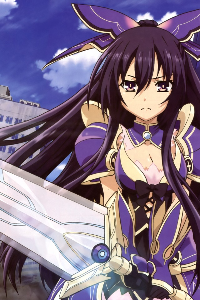 Liquid Live Wallpaper Iphone X Date A Live Tohka Yatogami Iphone 4 Wallpaper 640x960 6