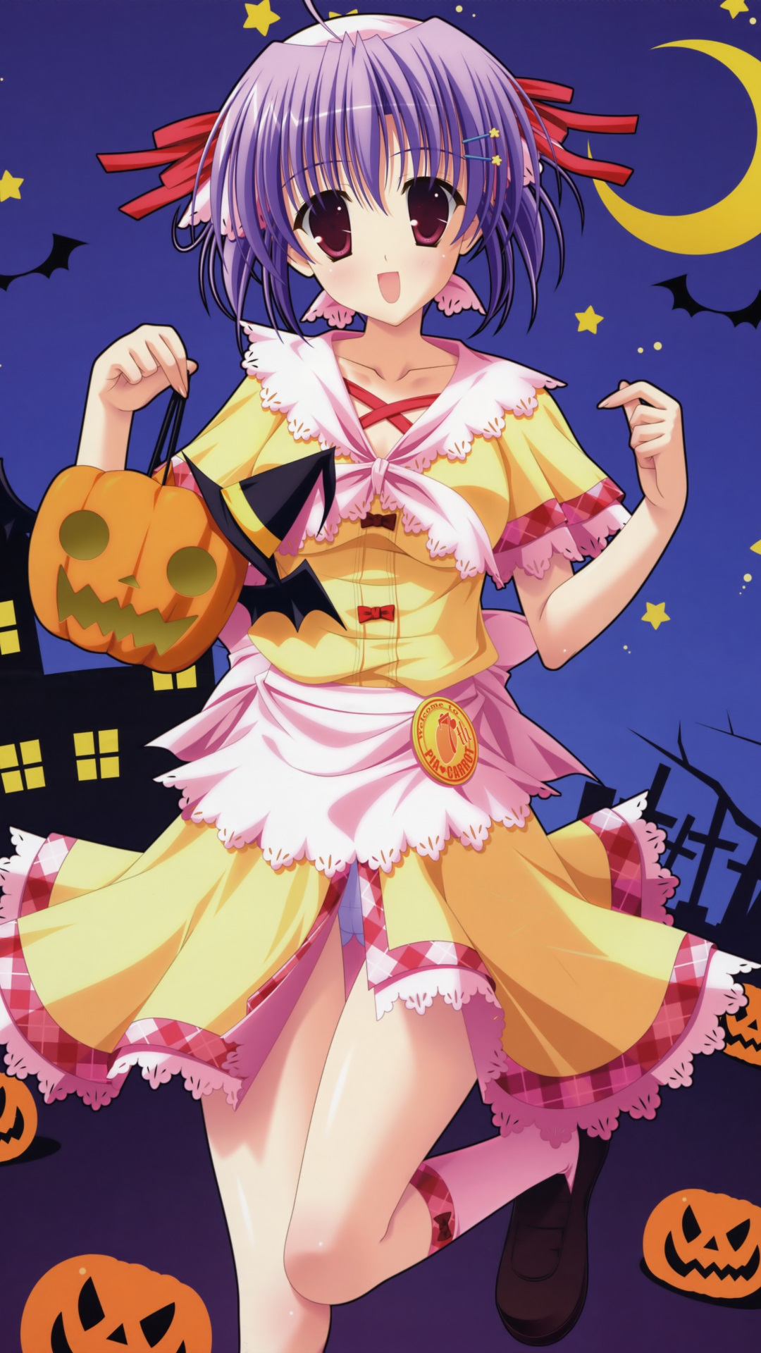 Cute Ipod Touch Wallpaper Anime Halloween 2013 Htc One Wallpaper 1080x1920