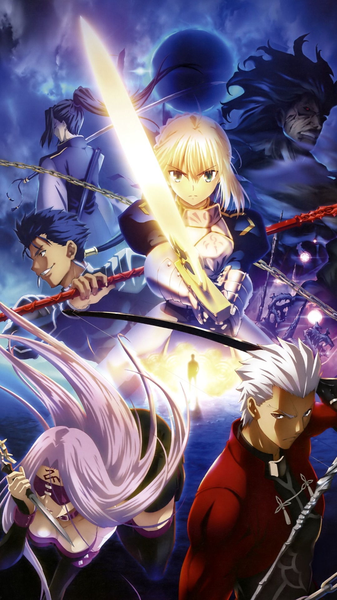Iphone 7 Plus Wallpaper Size Fate Stay Night Unlimited Blade Works