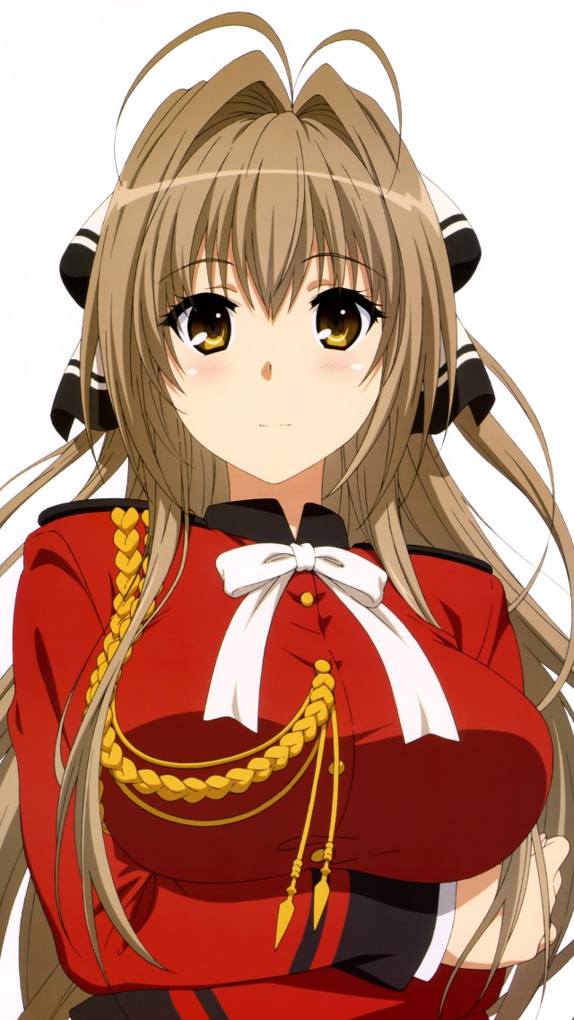 Live Wallpaper On Home Screen For Iphone X Amagi Brilliant Park Isuzu Sento Wallpaper For Iphone 5