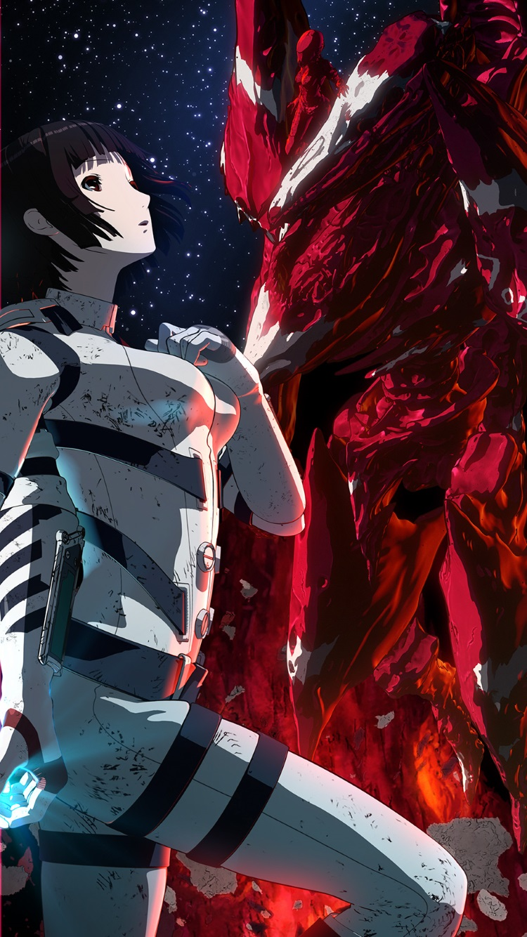 3d Wallpaper Blackberry Knights Of Sidonia Shizuka Hoshijiro Iphone 6 Wallpaper