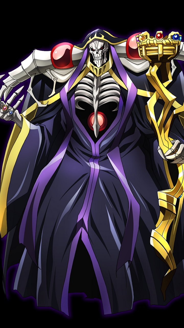 Full Hd Wallpapers For Samsung Galaxy S3 Overlord Ainz Ooal Gown Samsung Galaxy Nexus Wallpaper