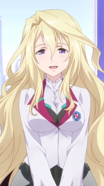 Iphone X Wallpaper For Android Gakusen Toshi Asterisk Claudia Enfield Nokia C7 Wallpaper